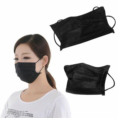 50/100Pcs Disposable Surgical Face Anti-Dust Hygienic Medical Mouth Masks WT