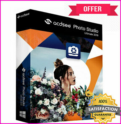 ACDSee Photo Studio Ultimate 2019 >Life Time License Key<  >INSTANT DELIVERY<