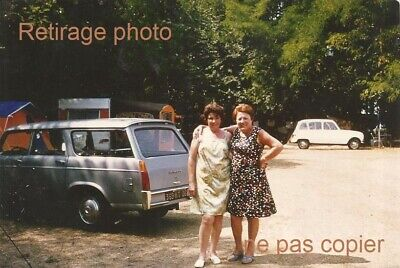 Retirage Photo COPIE Voiture Peugeot 404 Familiale Commerciale break renault 4L