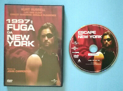 DVD Film Ita Fantascienza 1997:FUGA DA NEW YORK kurt russell carpenter no vhs(D4