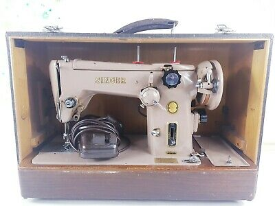 SINGER 306K Semi-Industrial SEWING MACHINE, ZIGZAG, SERVICED & PAT