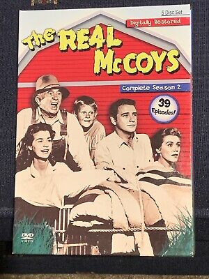 The Real McCoys - The Complete Season 2 (DVD, 2007, 5-Disc Set)