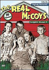 The Real McCoys - The Complete Season 3 (DVD, 2008)