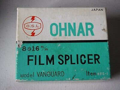 Ohnar Universal Splicer for 8, 16mm in Box
