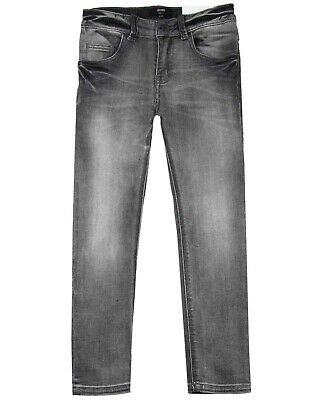HUGO BOSS Boys Slim Fit Denim Pants in Grey, Sizes 6-16