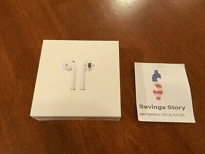 Brand New Apple AirPods 2nd Gen. (MV7N2AM/A) NEW SEALED 2019(NEW IN STOCK)