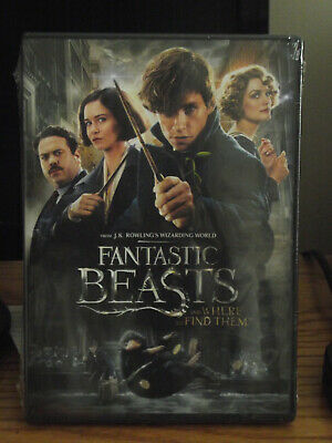 Fantastic Beasts and Where to Find Them (DVD, 2016 New Unopened!