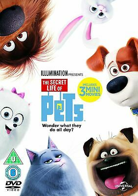 The Secret Life Of Pets [DVD] [2015]