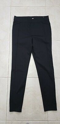 1e1d619b6eb4bc ... Sleek Fit Athletic Pants Solid Black Victorias Secret Sport VSX SZ  Large.