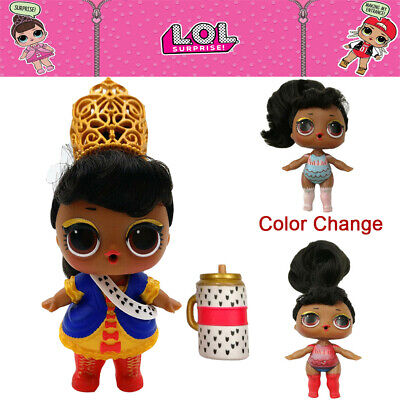 LOL Surprise Doll Her Majesty Hair Goals Series 5 Toy Outfit Set - Color Change