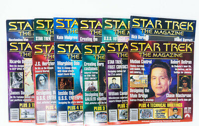 Star Trek Magazine Entire Year 2000 Vol 9 Through 20 Issues January - December