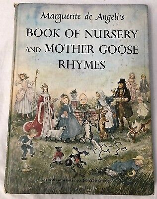 Marguerite de Angeli's BOOK OF NURSERY and MOTHER GOOSE RHYMES 1954
