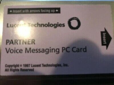 Avaya Partner ACS Voice Messaging Card PVM CWD2 Release 2.0 108253709