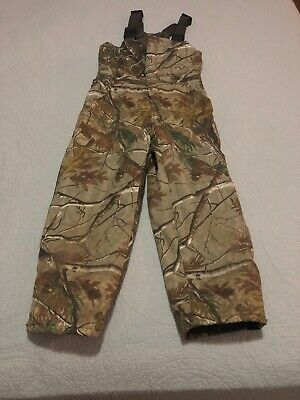40639ee41022b Red Head Insulated Bib Overalls Realtree Camo Youth Med Thermolite  Camouflage