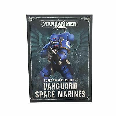 Vanguard Space Marines Codex - Warhammer 40k