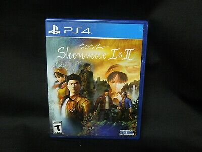 Shenmue 1 & 2 Sony Playstation 4 PS4