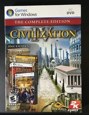 SID MEIERS CIVILIZATION IV: The Complete Edition - PC DVD