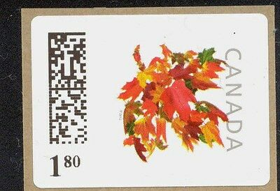 180c RARE 2012 RATE NEW CANADA KIOSK STAMP VARIABLE RATE VENDING COILS