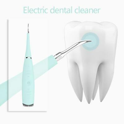 USB Electric Tooth Cleaner Sonic Dental Scaler Teeth Calculus Stain Remover Tool