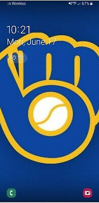 Milwaukee Brewers vs Chicago Cubs Tickets 07/28/19 4 tickets + preferred parking