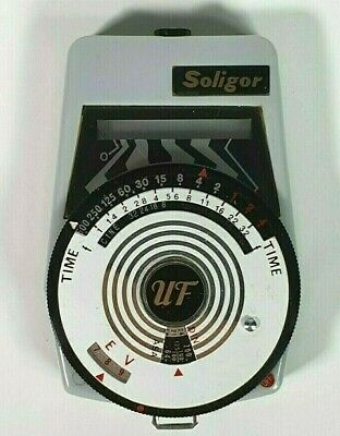 Soligor UF Light Meter and Case Vintage - Collectible