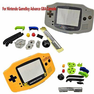 Hard Case Housing Replacement Shell Kit for Gaming GameBoy Advance GBA Console