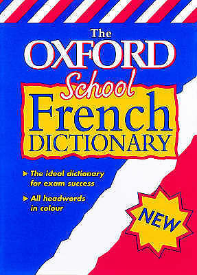 The Oxford School French Dictionary (Bilingual Dictionary), OUP | Used Book, Fas