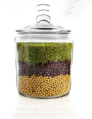 Masthome 1G Large-Capacity Glass Jar Sealed Container Used to Store Food and...