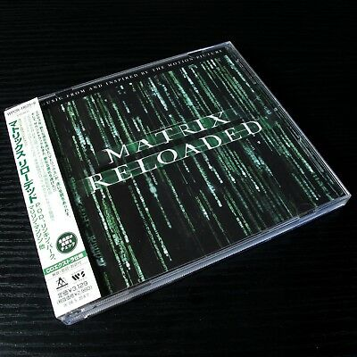 The Matrix Reloaded: The Album JAPAN 2xCD+Sticker W/OBI Mint Soundtrack #33-4