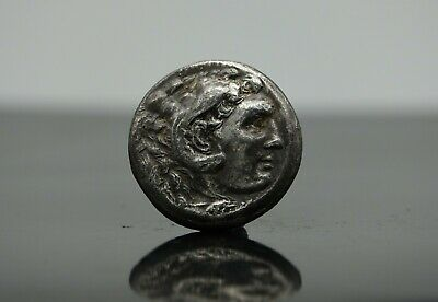 Greek Silver Coin Macedonian Kingdom Alexander III 'the Great' AR Tetradrachm