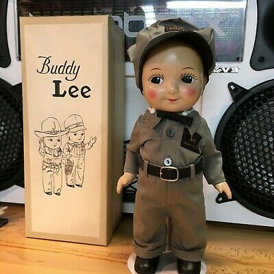 Buddy Lee Advertising Doll , Made In Japan Repo & Collectable