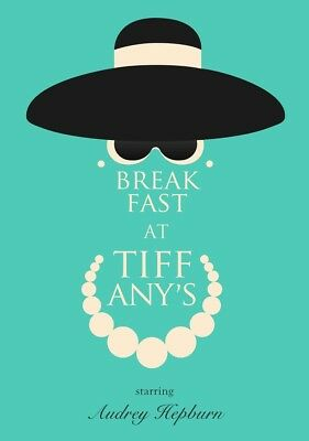 BREAKFAST AT TIFFANY'S Movie PHOTO Print POSTER Film Audrey Hepburn Classic 001
