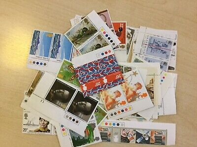 GB 2nd class stamp lot - 100 mint stamps that make 50 x 2nd class save 35%!