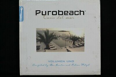 Various ‎– Purobeach Volumen Uno - 2 CDs  With A book as Cover- (C156)
