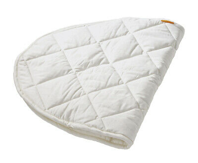 NEW White Leander Cotton Cot Mattress Protector - Leander,Baby Bedding
