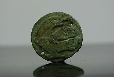Viking Bronze Bird Applique, Norse Zoomorphic Ornament  800-1000 AD