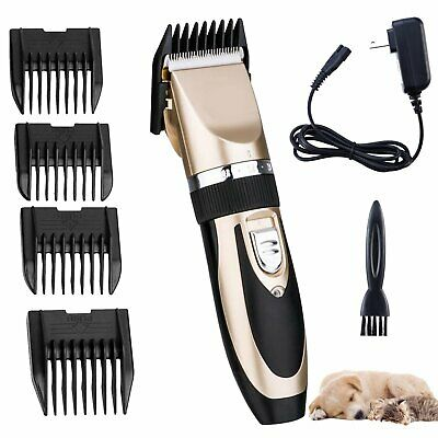 Professional Pet Dog Cat Animal Clippers Hair Grooming Cordless Trimmer Shaver T
