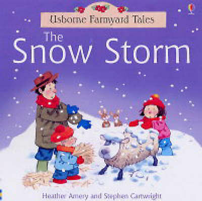 Snow Storm (Farmyard Tales) (Farmyard Tales Sticker Storybooks), Heather Amery |