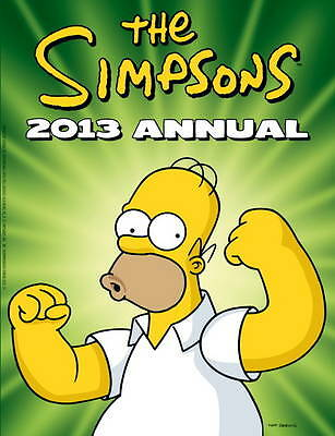 The Simpsons - Annual 2013, Matt Groening | Used Book, Fast Delivery