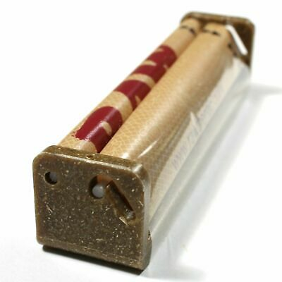 Authentic Hemp Rolling Machine Cigarette Paper Roller 110mm Kingsize For RAW