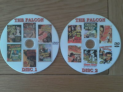 The Falcon:george Sanders:12 Films 2 High Quality Dvds.
