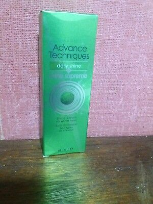 Avon Advance Techniques Daily Shine  Supreme Shine Serum 60ml rare  discontinued