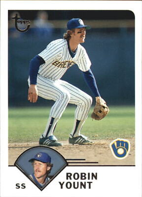 2003 Topps Retired Signature #62 Robin Yount