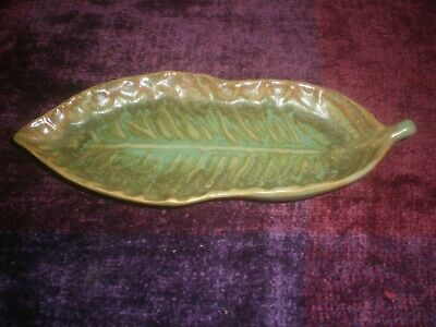 McCredie NSW Pottery Leaf Dish