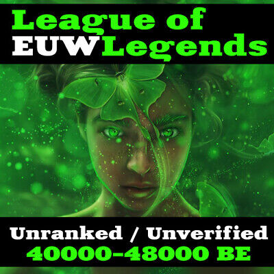 League of Legends Account LOL | EUW | Level 30 | 40000+ IP / BE | 48k+ Unranked