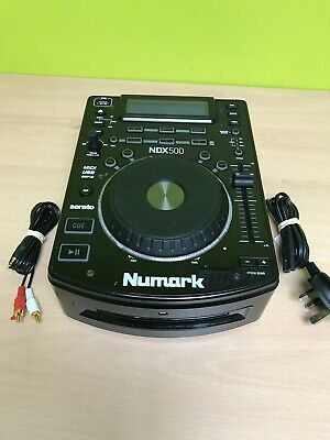 Numark NDX500 USB/CD Media Player + Scratch Controller