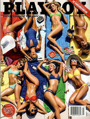 Brand New Factory Sealed Playboy July August 2015 Summer, Sex & Sun Special