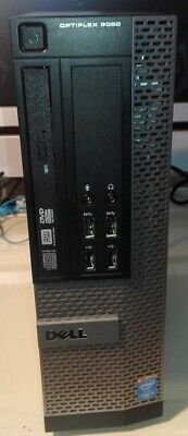 Dell Optiplex 9020 SFF Desktop intel Quad Core i5-4570 4G 320G W10 Used Desktop