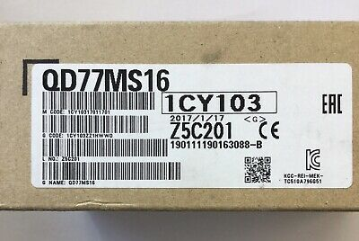 Mitsubishi QD77MS16 Positioning Module | 16-Axis Motion Control | 70% + OFF |