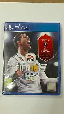 FIFA 18 World Cup Russia 2018 PS4 Sealed games with damage to case